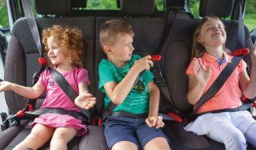 SMART KID BELT - Pasy zastępujące fotelik i podkładkę