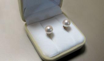 Kolczyki z perłami –