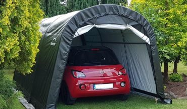 Co zamiast garażu lub wiaty? Sprawdzi się namiot
